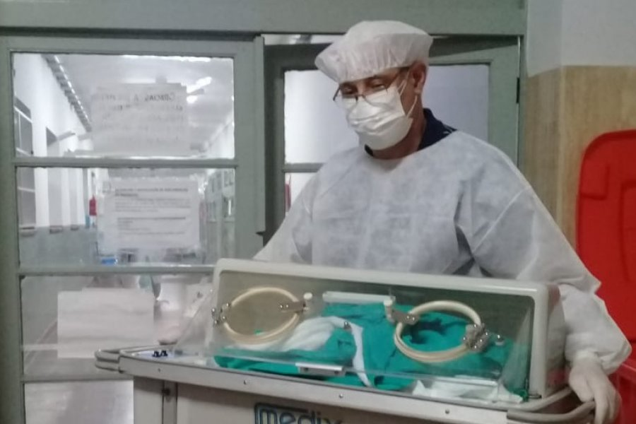 Ya son 50 los bebés que nacieron en el Hospital de Campaña