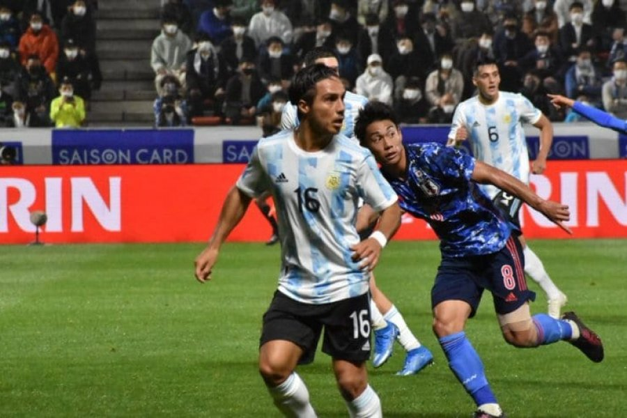Argentina cayó goleada ante Japón en su segundo amistoso