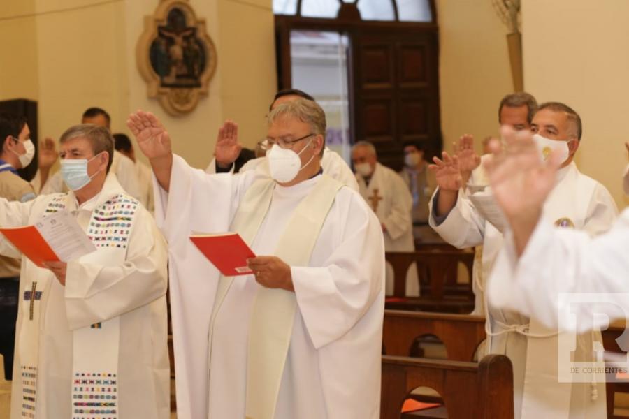 Correntinos viven la Semana Santa con diversas celebraciones religiosas