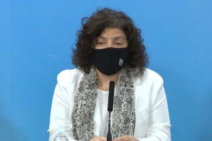 """Vizzotti reconoció """"preocupación"""" oficial, pero aclaró que se está """"lejos de saturar el sistema de salud"""""""