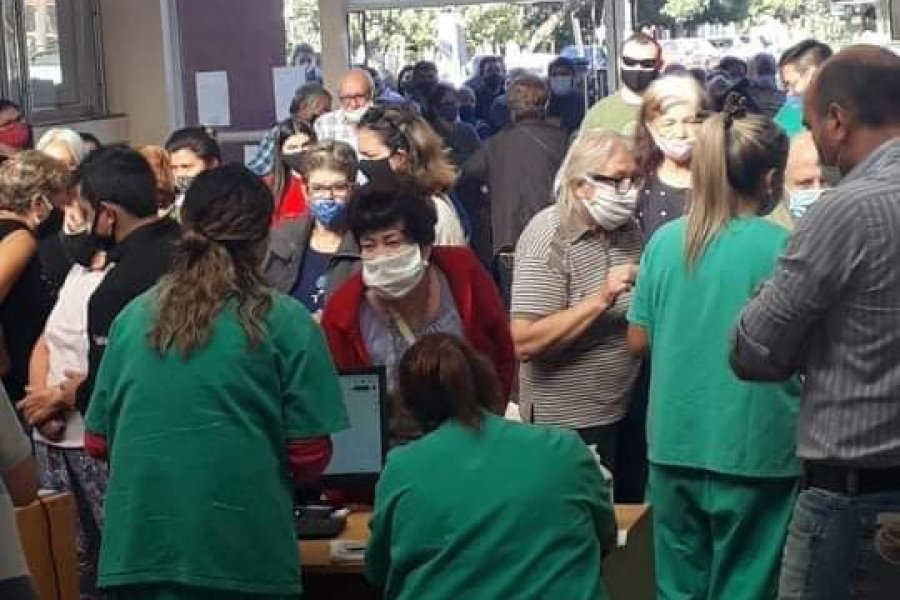 Bella Vista y Libres: Colapso en centros provinciales de vacunación