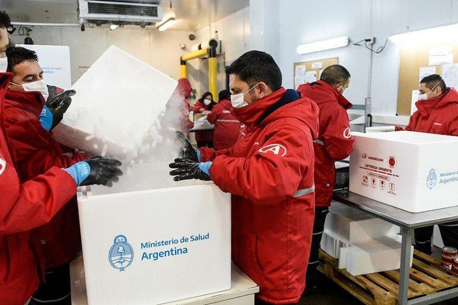 Comenzó una nueva distribución y Corrientes recibirá 7800 dosis de Sputnik V