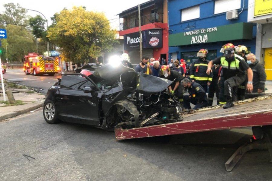 Dos jóvenes hermanas murieron tras chocar el auto en el que transitaban