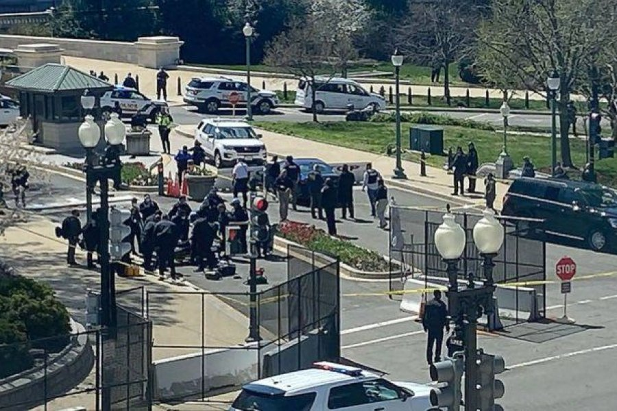 Tensión en EEUU: dos muertos en un nuevo ataque al Capitolio