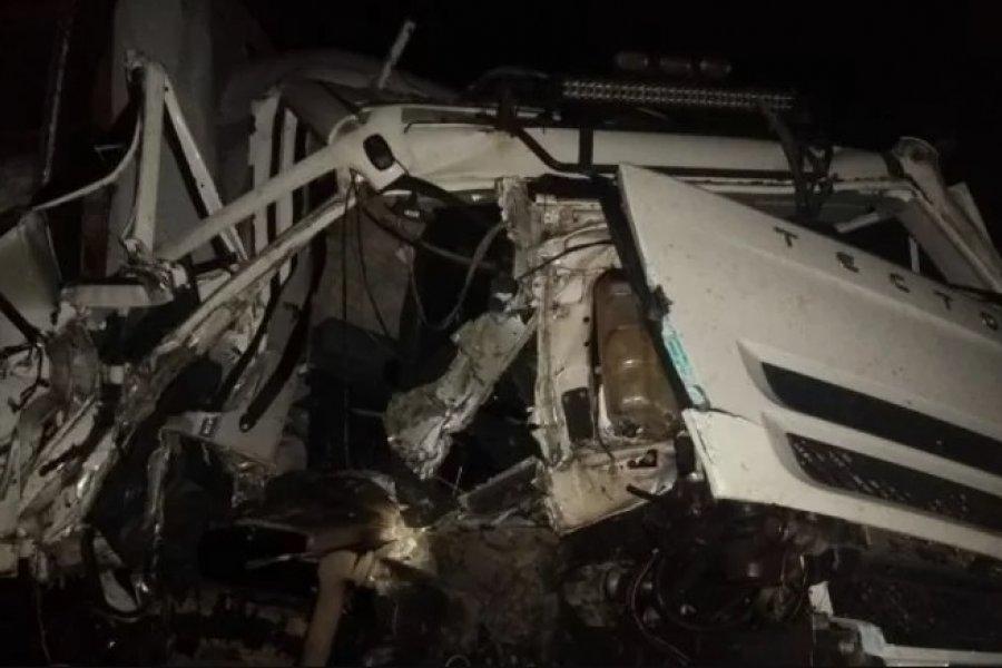 Un camionero murió tras un choque fatal en Ruta 119