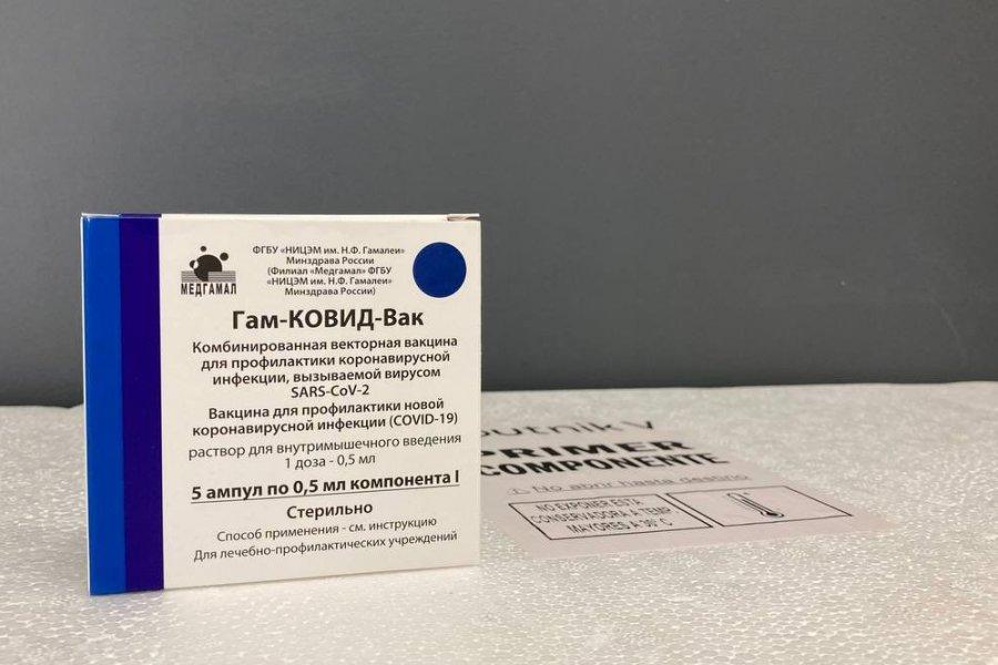 Llegaron a Corrientes 7.800 dosis de la vacuna Sputnik V