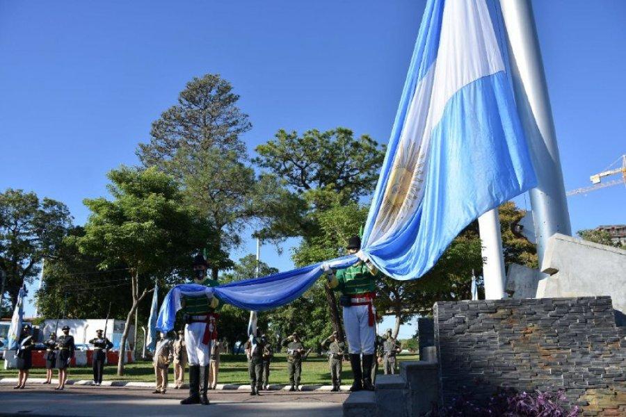 Se realizó un acto por el 433º aniversario de la fundación de Corrientes