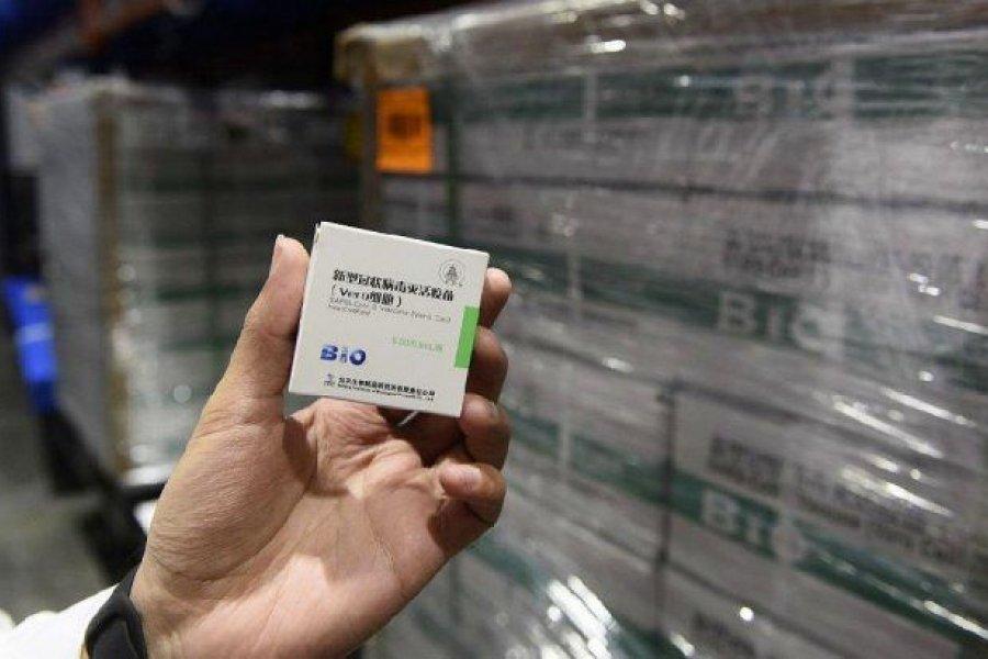 Corrientes recibirá otras 9.600 dosis de Sinopharm