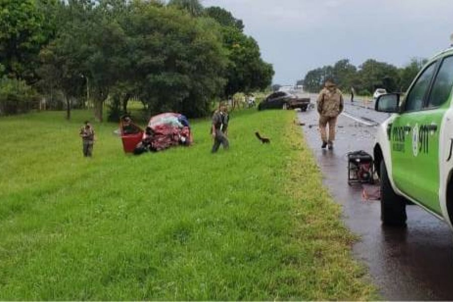 Un hombre murió en un accidente vial cerca de San Cosme