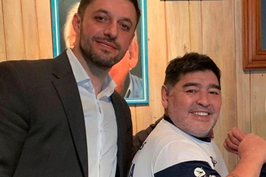 Allanaron a Matías Morla, y no podrá hacer uso de las marcas de Diego Maradona
