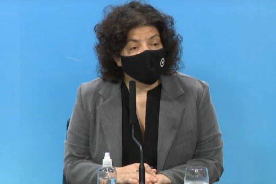 """Carla Vizzotti: """"Hay un aumento sostenido de casos y la segunda ola es un hecho"""""""