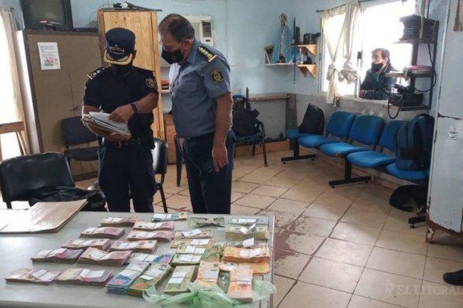 Incautaron más de 6 millones de pesos en una moto de agua en Corrientes