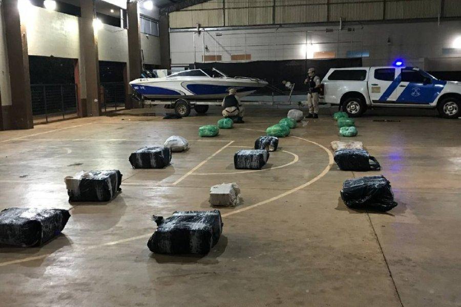 Secuestraron un cargamento de más de media tonelada de marihuana