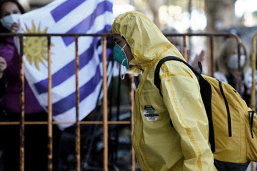 Uruguay ya es el país con más contagios por millón de habitantes