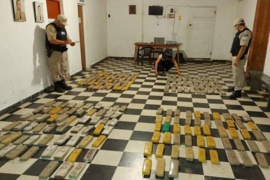Secuestraron más de 150 kilos de marihuana en Itatí