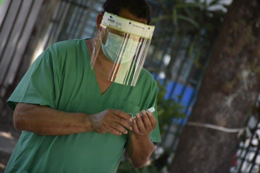Vacunación en Goya: Dicen que ya supera el 10% de la población