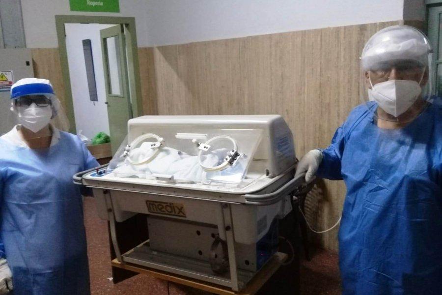 Nacieron otros dos bebés en el Hospital de Campaña