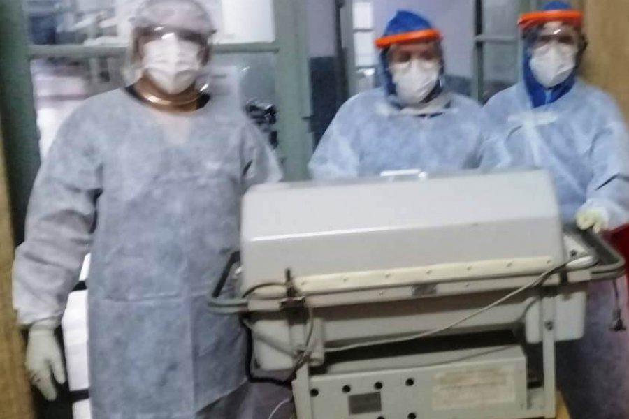 Nacieron otros tres bebés en el Hospital de Campaña