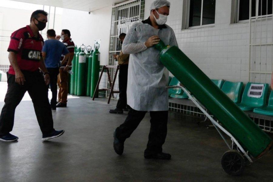 Más de mil ciudades en riesgo por falta de oxígeno, el retrato del colapso sanitario en Brasil