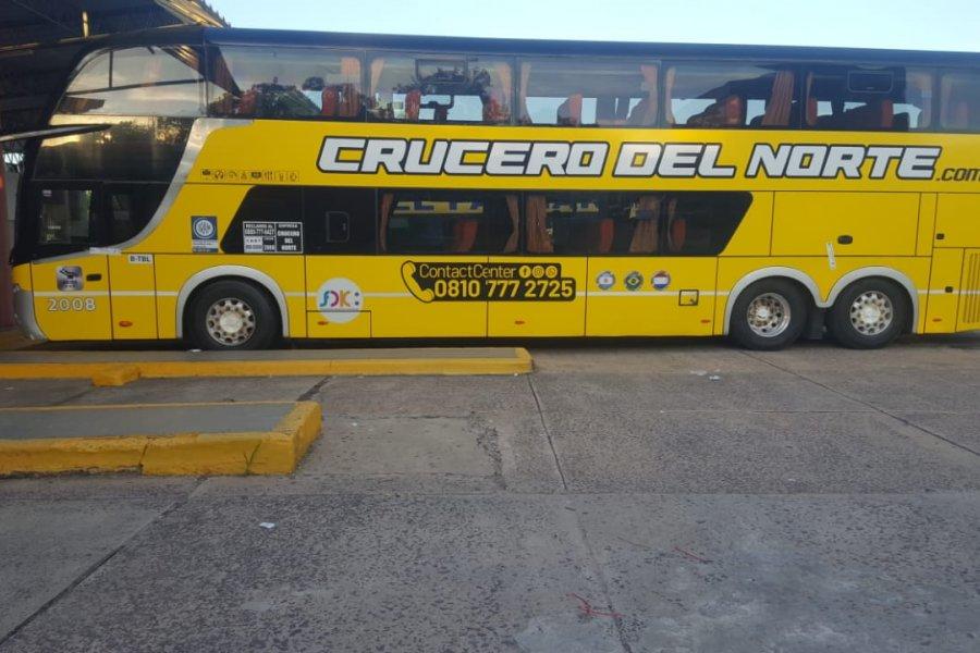 Corrientes: retienen un coche de la empresa Crucero del Norte