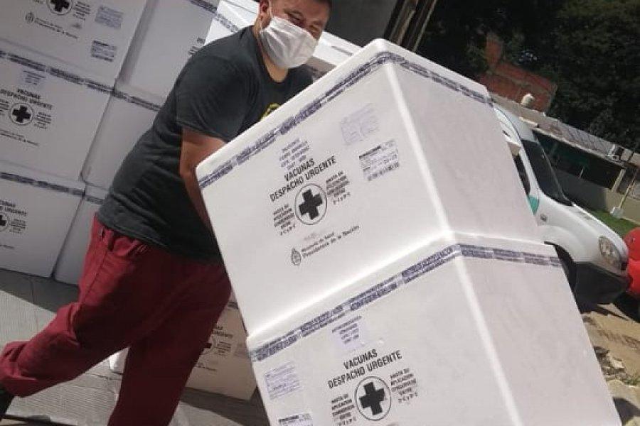 Llegaron las vacunas antigripales a Corrientes