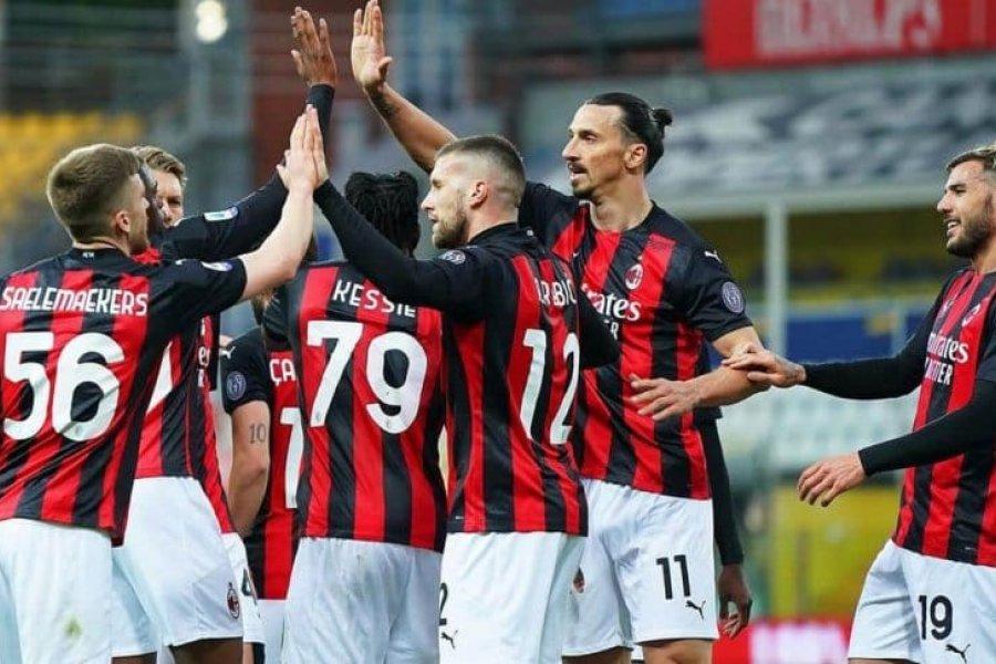 Ibrahimovic, expulsado en la victoria de Milan frente al Parma