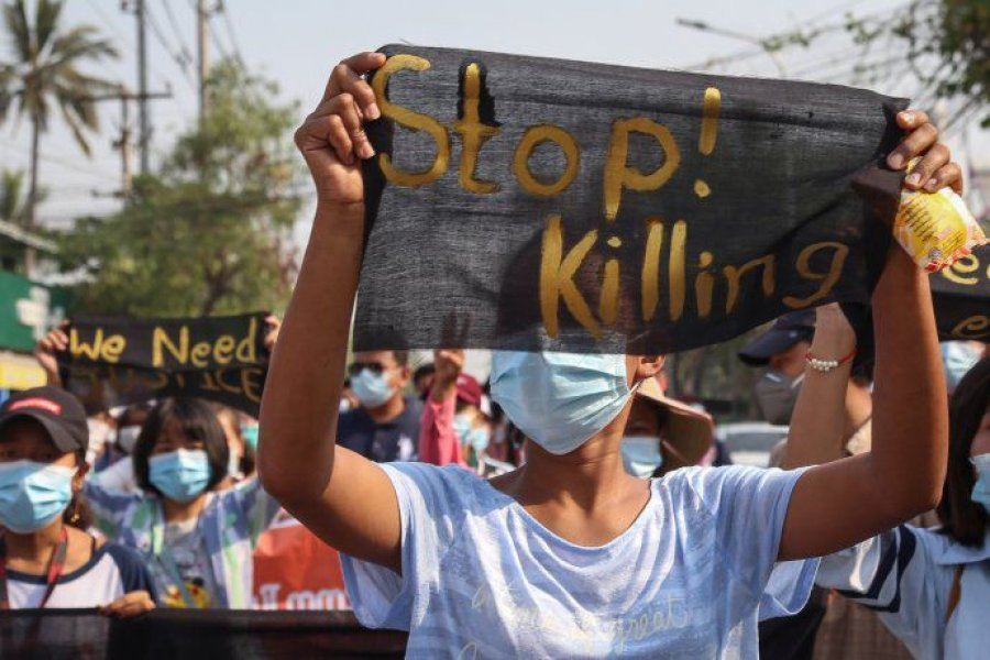 La represión en Myanmar ya dejó más de 700 civiles muertos