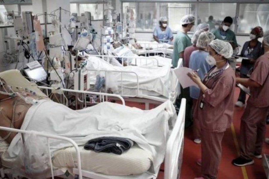 Brasil tiene más pacientes jóvenes que mayores en cuidados intensivos