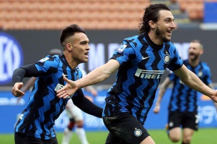 Inter acaricia el Scudetto, Cagliari, la segunda división