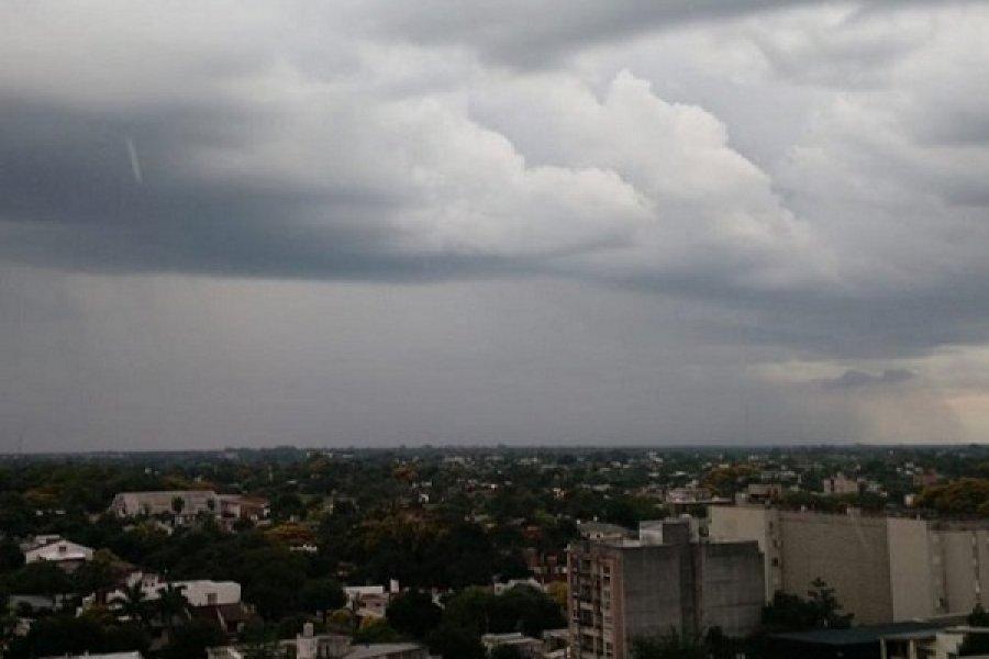 Descenso de temperatura en Corrientes