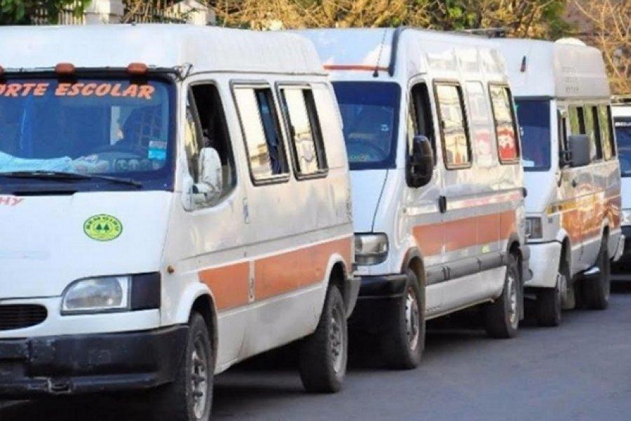 Efecto Pandemia: Transportistas escolares correntinos piden subsidios