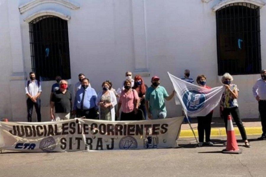 Trabajadores judiciales en alerta y movilización