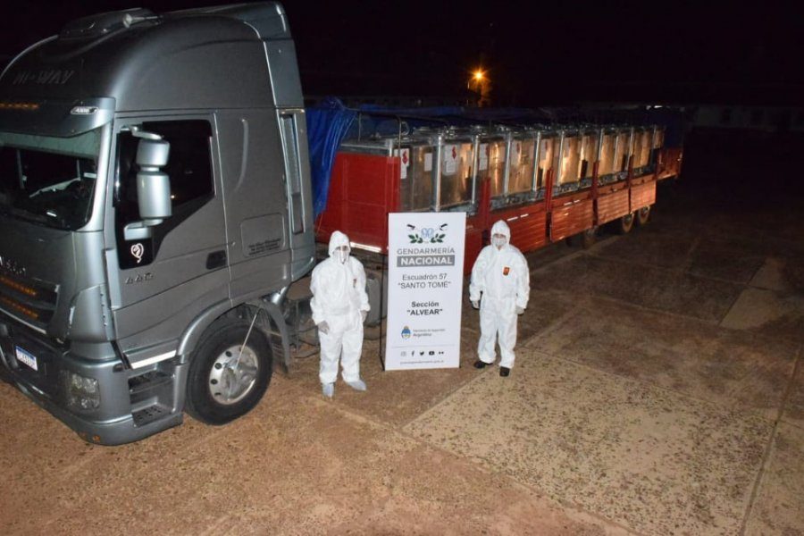 Secuestraron nueve toneladas de precursores químicos transportadas de manera ilegal