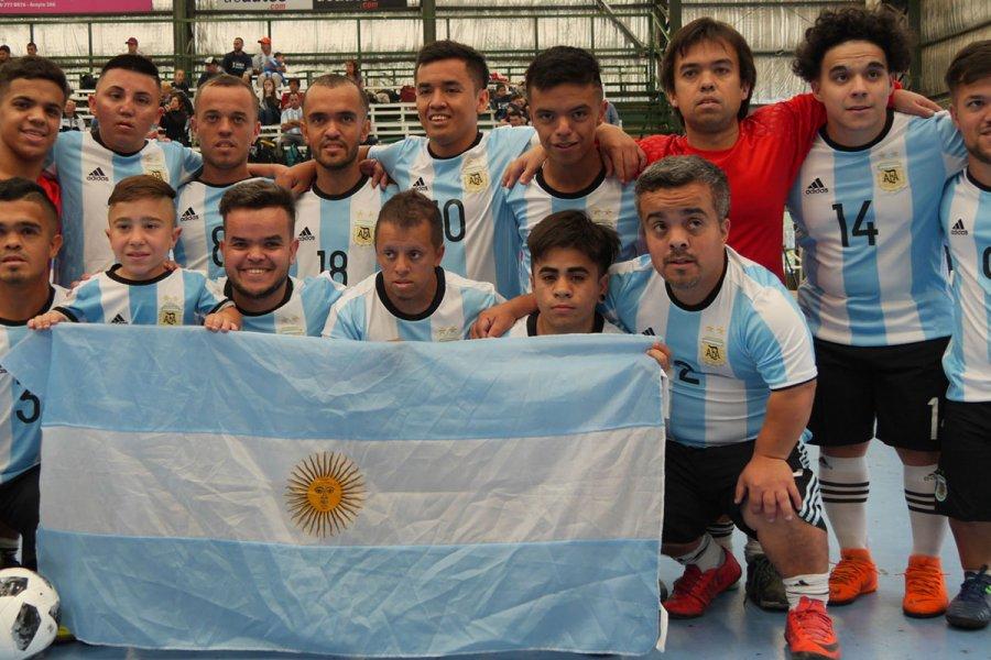 La Selección Argentina de Fútbol Talla Baja visitará al Papa Francisco en Roma