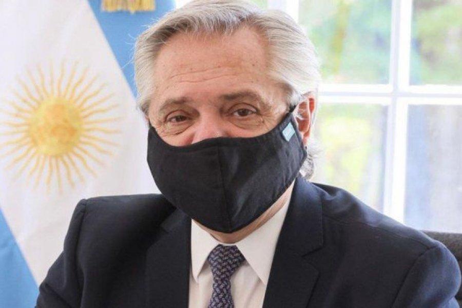 Alberto Fernández evoluciona de manera favorable de su cuadro de coronavirus