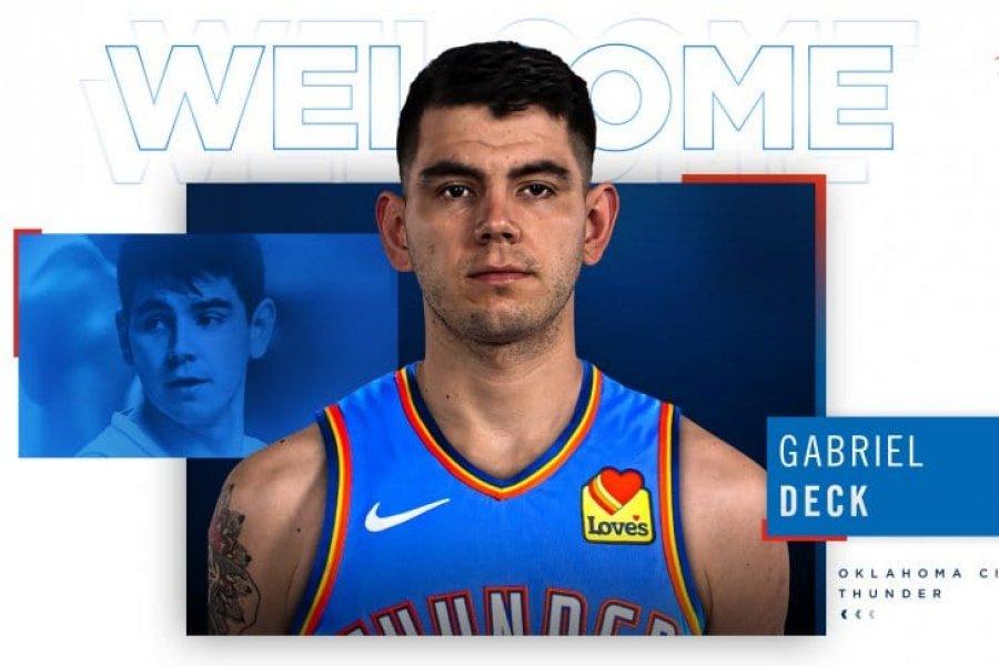 Oklahoma le dio la bienvenida a Gabriel Deck