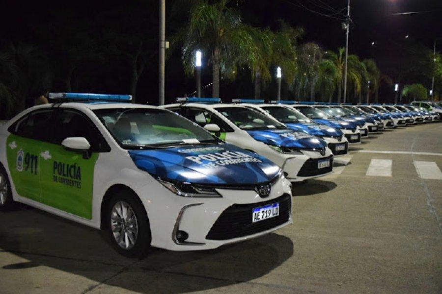Entregarán nuevos móviles a la Policía de Corrientes