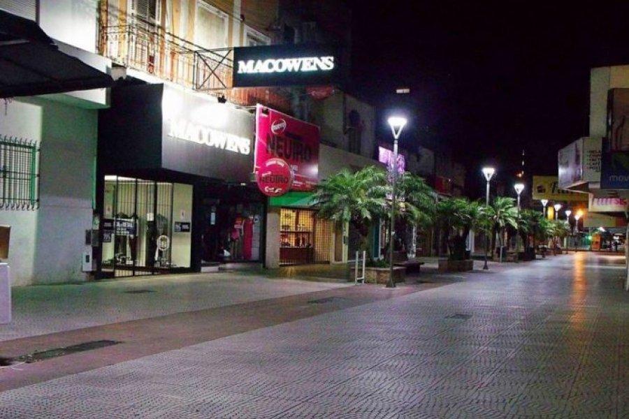 Imponen restricciones nocturnas en la ciudad de Corrientes hasta fin de mes