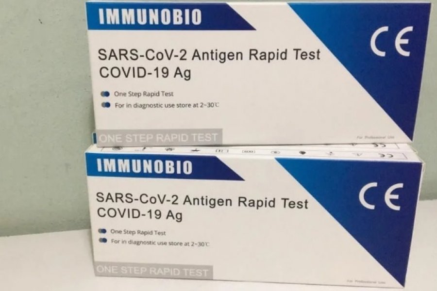 Ya venden en farmacias el test rápido que detecta el coronavirus en 10 minutos