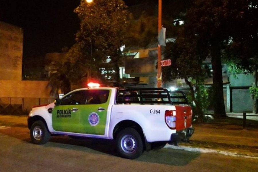Conductor chocó y provocó disturbios en persecución policial