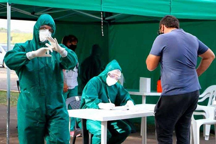 Nuevo récord: Detectaron 489 casos de Covid en Corrientes