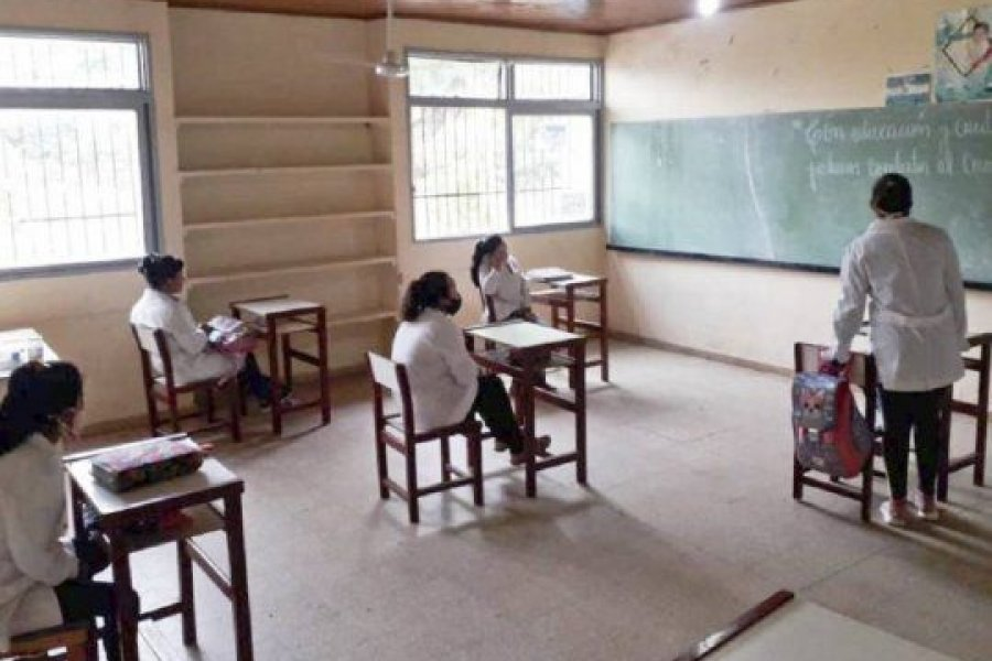Brote Covid: No se suspenderán clases presenciales en Corrientes