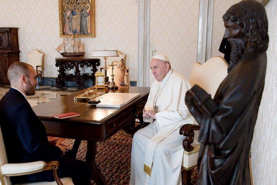 Guzmán se reunió con el papa Francisco en el Vaticano