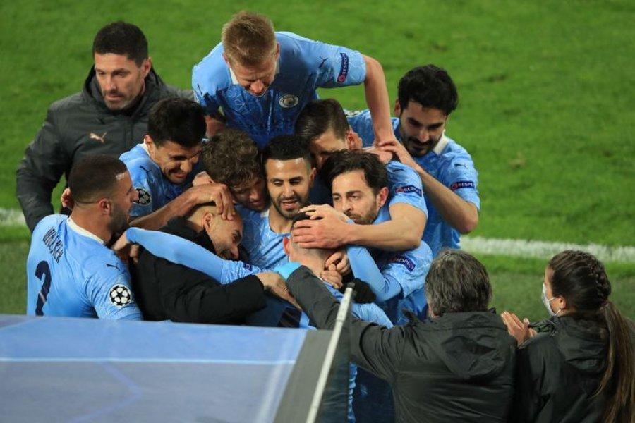 Manchester City le ganó a Borussia Dortmund y se metió en la semifinal