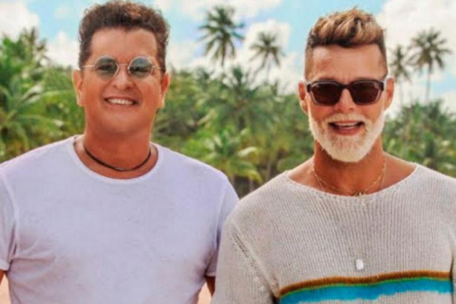 Ricky Martin y Carlos Vives se declararon su amor fraterno