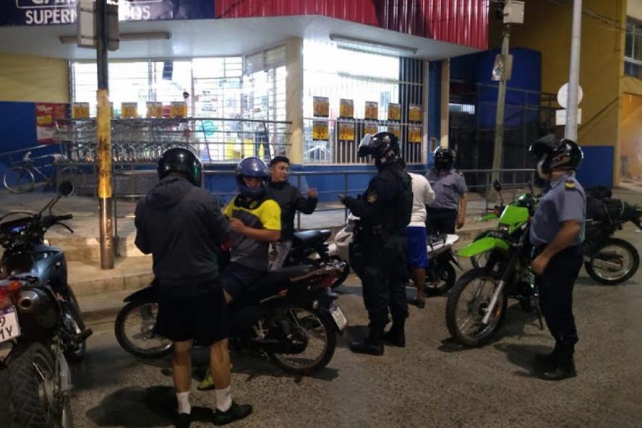 Se intensifican los patrullajes en Capital