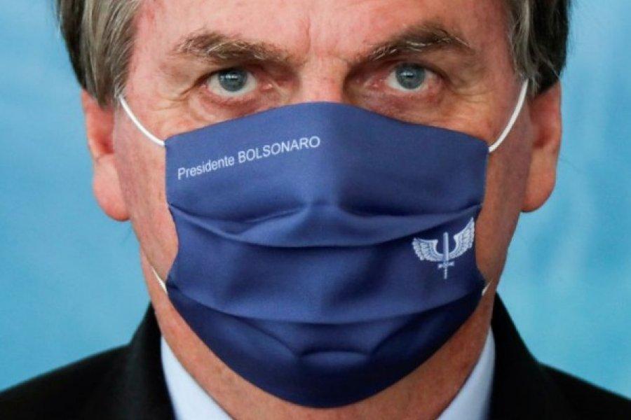 El irónico mensaje de Jair Bolsonaro sobre el toque de queda en Argentina