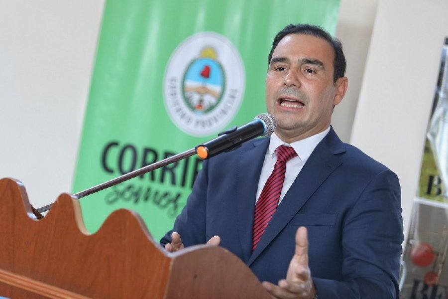 En acto oficial el Gobernador reconoció que Corrientes es una provincia pobre