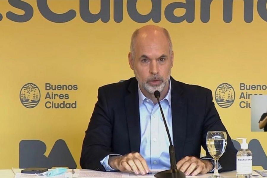 Rodríguez Larreta reclama en la Justicia mantener las clases presenciales