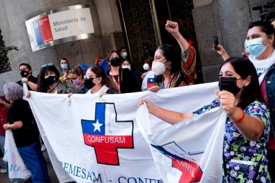 Chile: La ocupación de camas en terapia intensiva llega al 97%